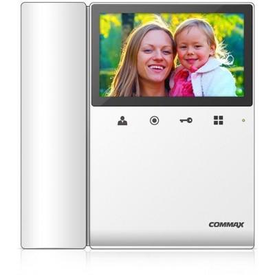 """CDV-43KM bílý - verze 230Vac videotelefon 4,3"""", CVBS, se sluch., paměť."""