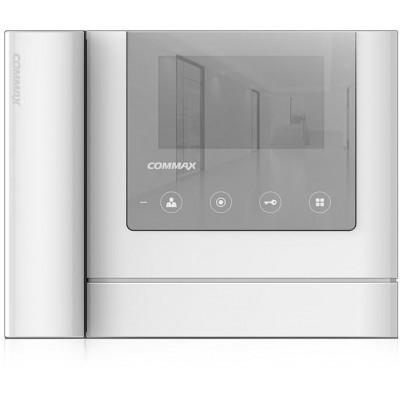 "CDV-43MH zrc. bílý - verze 17-30Vdc videotelefon 4,3"", CVBS, se sluch., zrcadlo"