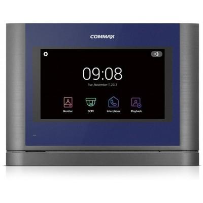 """CDV-704MA modrý - verze 17-30Vdc videotelefon, 7"""", HD ready, dotyk., paměť"""