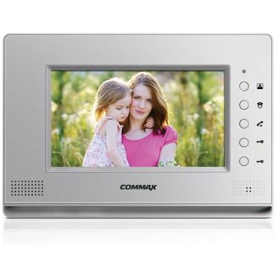 """CDV-70AR3 stříbrný videotelefon, 7"""", CVBS, dva zámky, 2 vst."""