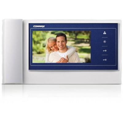 """CDV-70KR3 bílo-modrý videotelefon 7"""", CVBS, dva zámky, 2 vst."""
