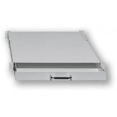"""DFA14835 19"""" výsuvná polička - hl. 350mm, max. zatížení 20kg"""