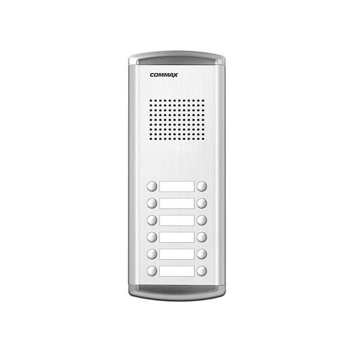 DR-12AM dveřní stanice, audio + 12 tlačítek, 4+n