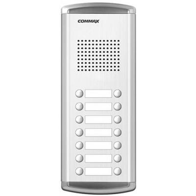DR-14AM dveřní stanice, audio + 14 tlačítek, 4+n