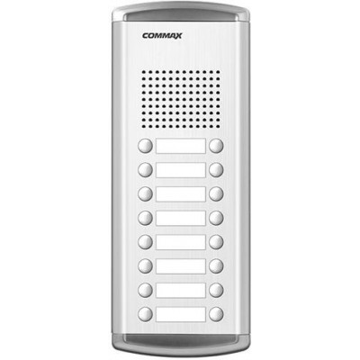DR-16AM dveřní stanice, audio + 16 tlačítek, 4+n