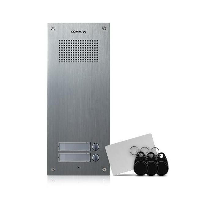 DR-2UM/RFID dveřní stanice, audio + 2 tlač., 4+n, RFID