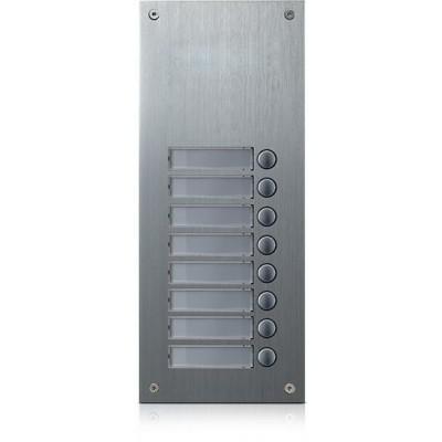 DR-8US rozšiřující tlač. panel, 8 tlačítek, 4+n