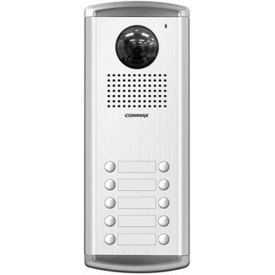 DRC-10AC2 dveřní stanice s kamerou, 10 tlač., CVBS