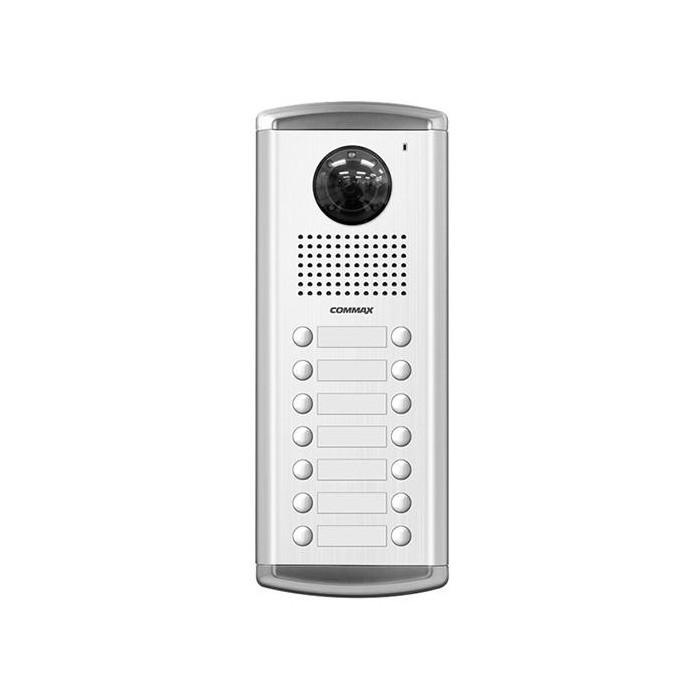 DRC-14AC2 dveřní stanice s kamerou, 14 tlač., CVBS