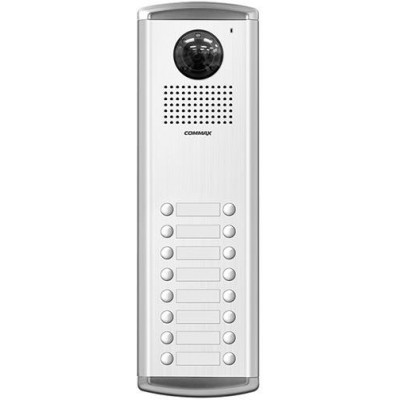 DRC-16AC2 dveřní stanice s kamerou, 16 tlač., CVBS