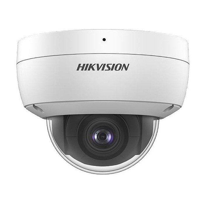 DS-2CD2123G0-IU - (2.8mm) 2MPix, IP dome kam., 2,8mm, WDR, EXIR 30m, IK10, mic