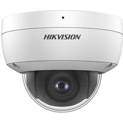 DS-2CD2123G0-IU - (4mm) 2MPix, IP dome kamera, 4mm, WDR, EXIR 30m, IK10, mic