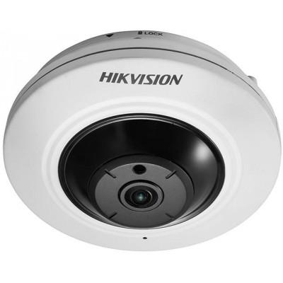 DS-2CD2955FWD-I(1.05mm) 5MPix, IP Fisheye kamera, 1,05mm, WDR, IR 8m,H265+