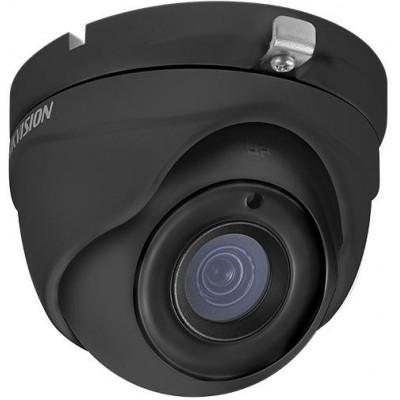DS-2CE56D8T-ITM - (Black)(2.8mm) 2Mpix, HD-TVI dome ball kamera, 2,8mm, WDR, EXIR 20m