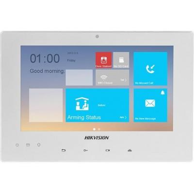 DS-KH8340-TCE2/EU-W Rozšiřující IP videotelefon pro sadu DS-KIS701, bílý