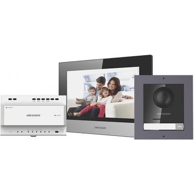 DS-KIS702(EU) sada IP videotelefonu, 2-vodič. systém, 2. gen