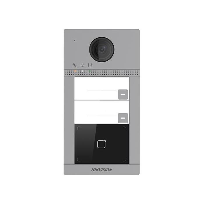 DS-KV8213-WME1 dveřní IP stanice, 2 tlač., 2MPx, RFID, 2.gen.
