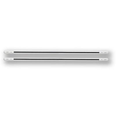 DWB 6-153 - bílá 6 paprsků, 153cm, pár