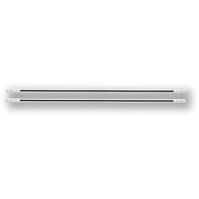 DWB 8-201 - bílá 8 paprsků, 201cm, pár