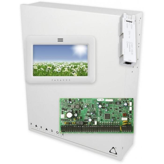 EVOHD + BOX VT-80 + IP150-SWAN + TM50