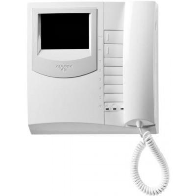 "EX3262 černobílá 4"" jednotka se sluchátkem"