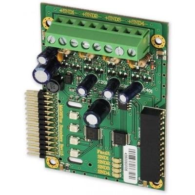 SIR-4 rozšiřující modul 4 výstupů pro sirény, jen pro MAG8
