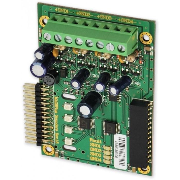 Expander 4 sirén rozšiřující alarmový modul