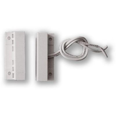 FM-106 - bílá povrchový, samolepící - 2vodič