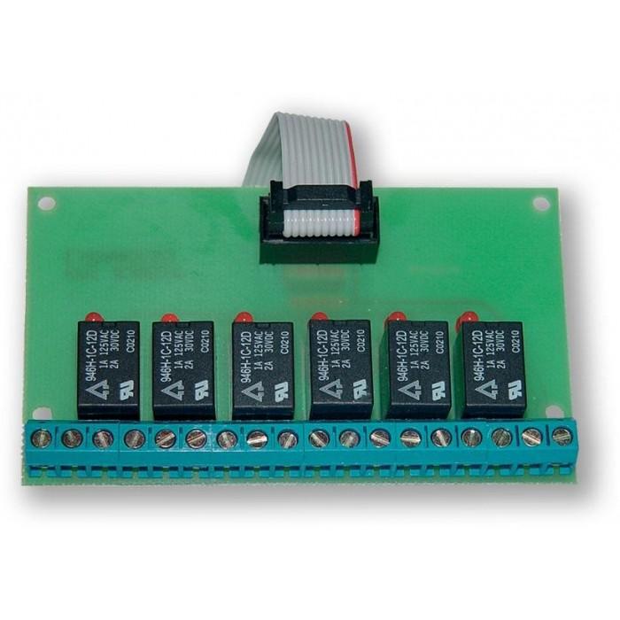 GSM expander VT-02 OUTPUTS - 6xRELÉ VÝSTUP