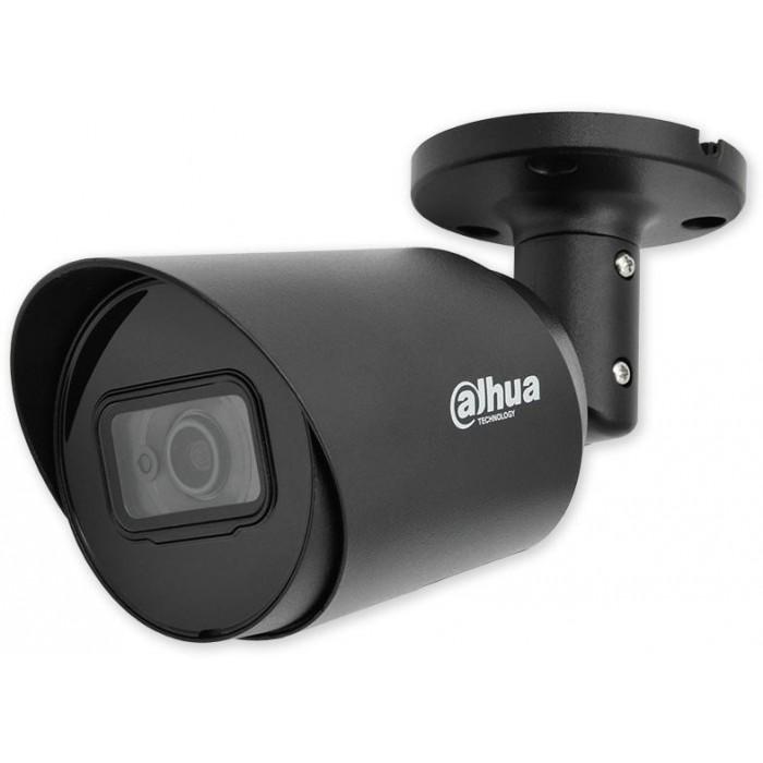 HAC-HFW1200T BLACK - černá 4v1, 1080p, 2,8mm, IR 30m, DWDR, černá