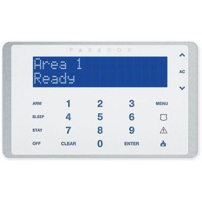 K656 - bílá LCD klávesnice s dotykovými klávesami