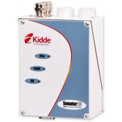 Kidde Senator 25 c/w Relay/Input card laserový nasávací detektor kouře