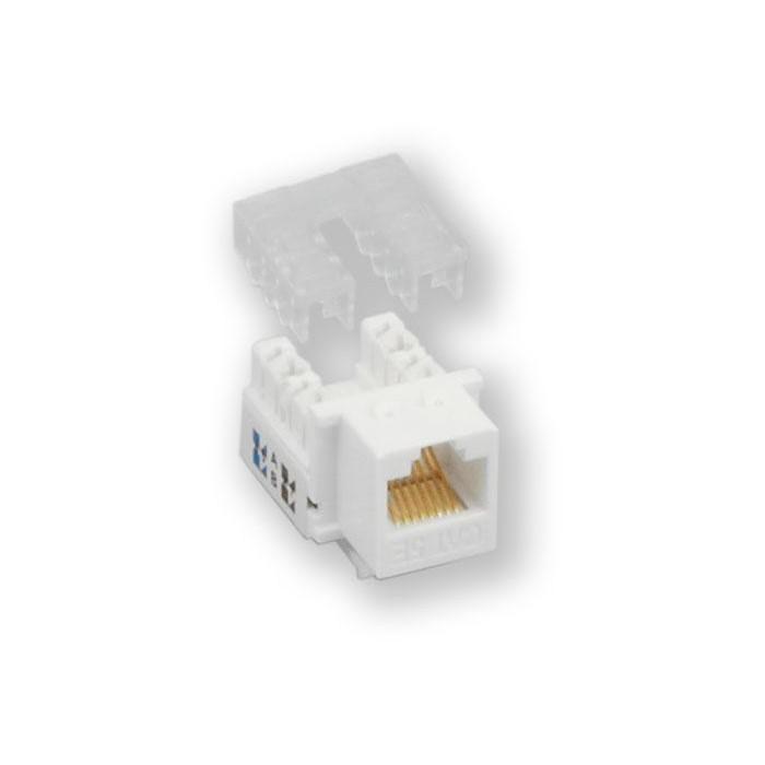 KJ-003 UPD/C5E - bílá horní osazování, C5E