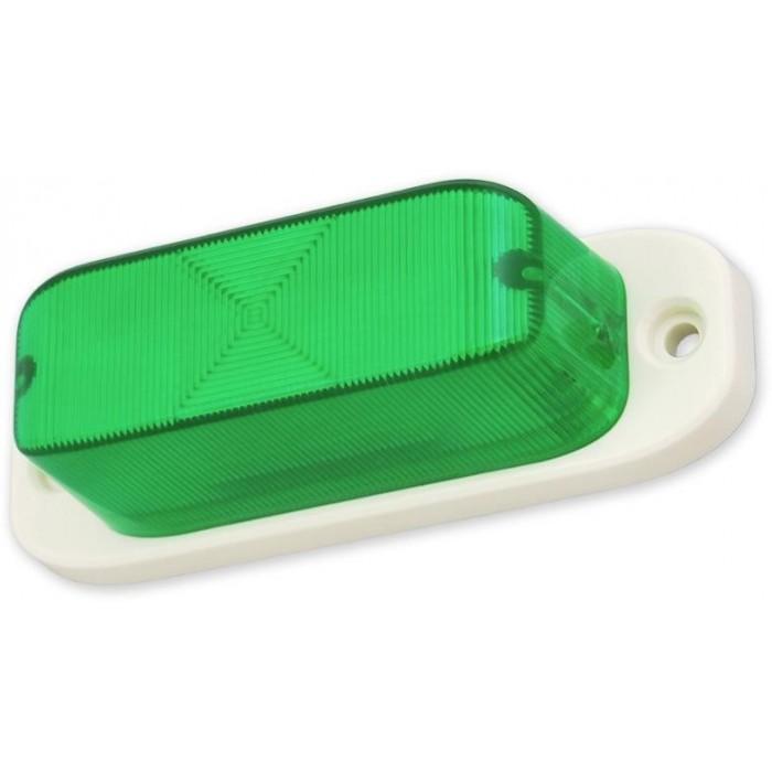 LED FLASH 330 - zelená blikač
