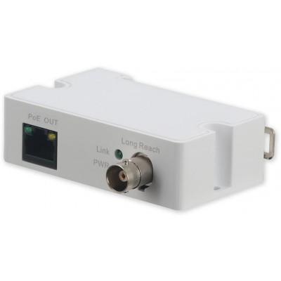 LR1002-1EC převodník Eth/koax, ePoE, přijímač