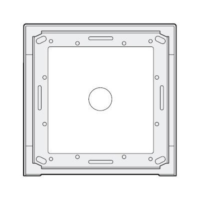 MA91 povrchová montážní krabička 1 modul