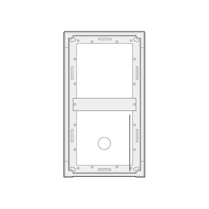 MA92 povrchová montážní krabička 2 moduly