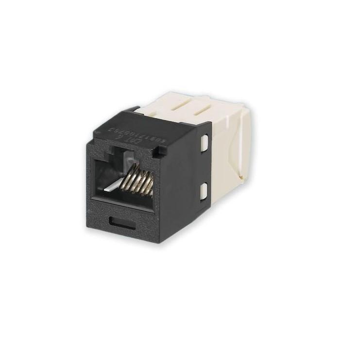 MINI-COM C6 - černá samořezný Mini-Jack, CJ688TGBL