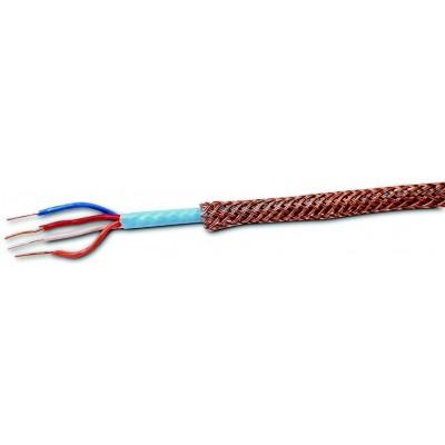 Modrý senzor s opletem kabel lineární teplotní detekce