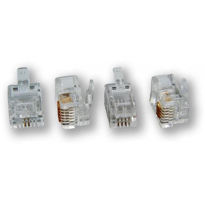 MP-091 T-4P4C konektor, 4P4C, C3 telefonní