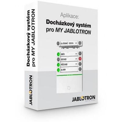 MyJabloD10 docházkový systém, licence pro 10 uživ.