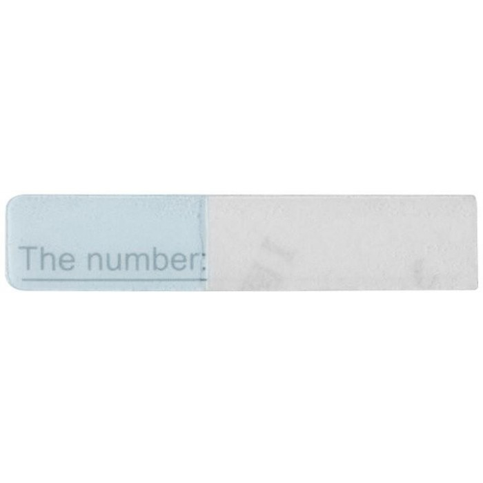 Náhradní jmenovka pro DS-KV8102-IM jmenný šnítek pro DS-KV8102-IM, 1.gen.