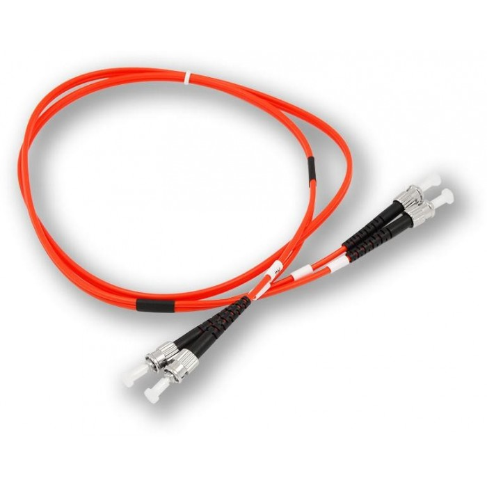 OPC-001 ST MM 50/125 1M patch kabel, ST-ST, duplex, MM, 50/125, 1 m