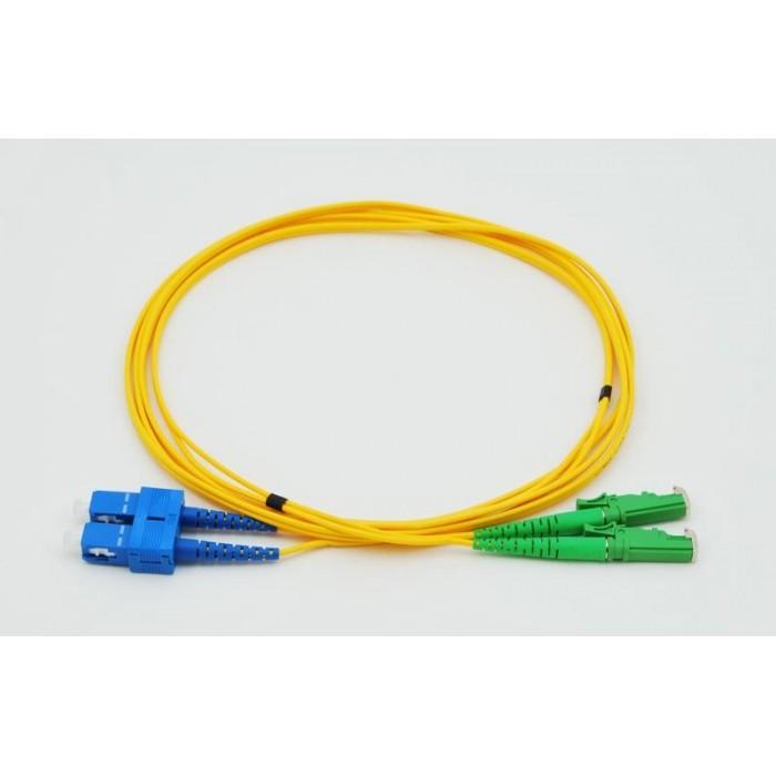 OPC-801 E2000-SC SM 9/125 2M patch kabel, E2000-SC, duplex, SM, 9/125, 2 metry