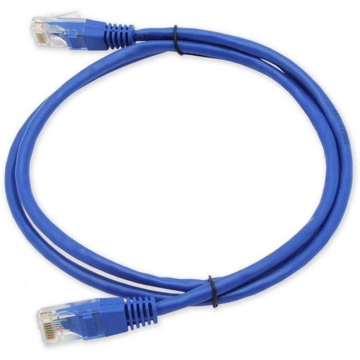 PC-201 C5E UTP/1M - modrá propojovací (patch) kabel