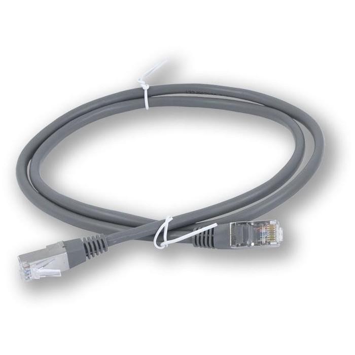 PC-401 C5E FTP/1M - šedá propojovací (patch) kabel