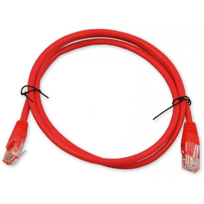 PC-601 C6 UTP/1M - červená propojovací (patch) kabel