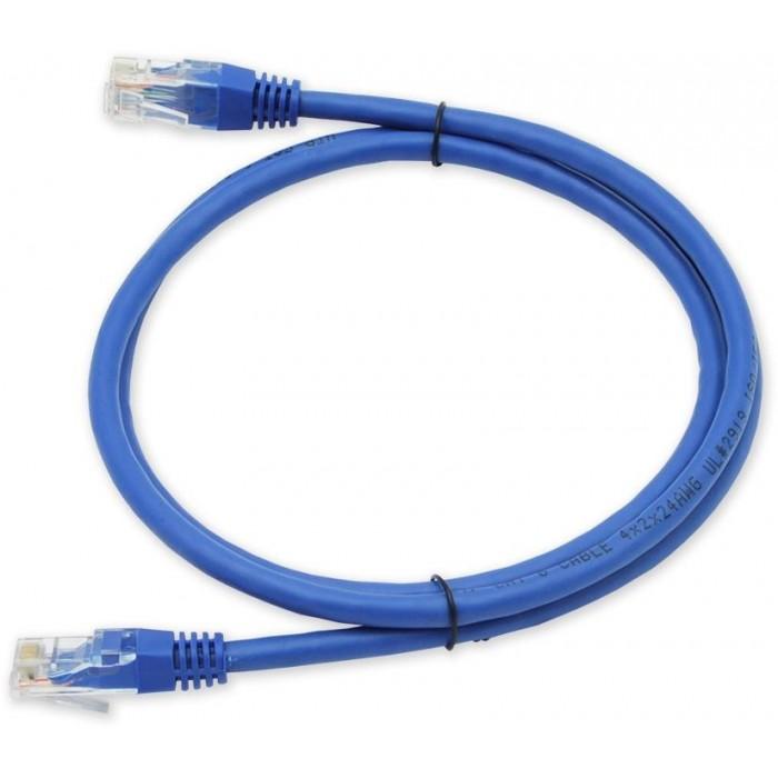 PC-602 C6 UTP/2M - modrá propojovací (patch) kabel