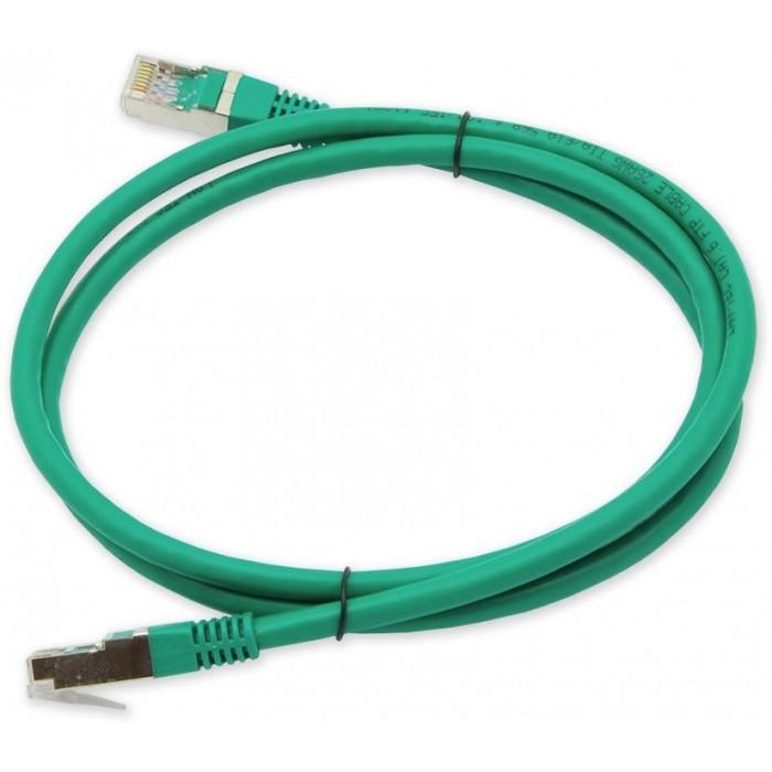 PC-801 C6 FTP/1M - zelená propojovací (patch) kabel