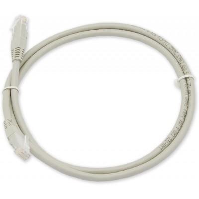PC-900 C6A UTP/0,5M - šedá propojovací (patch) kabel